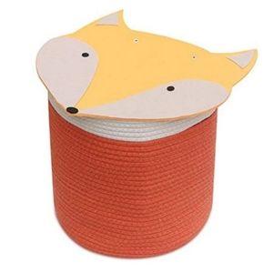 Cotton rope storage basket - Fox